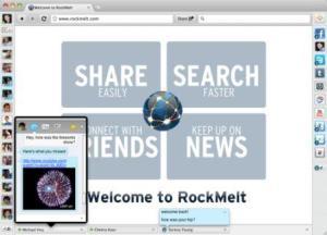 RockMelt Beta 2