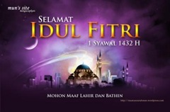 Selamat Idul Fitri 1432 H